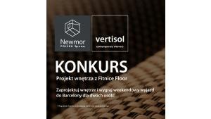 """Wystartował konkurs Newmor Polska """"Projekt Wnętrza z Fitnice Floor"""" Biuro prasowe"""