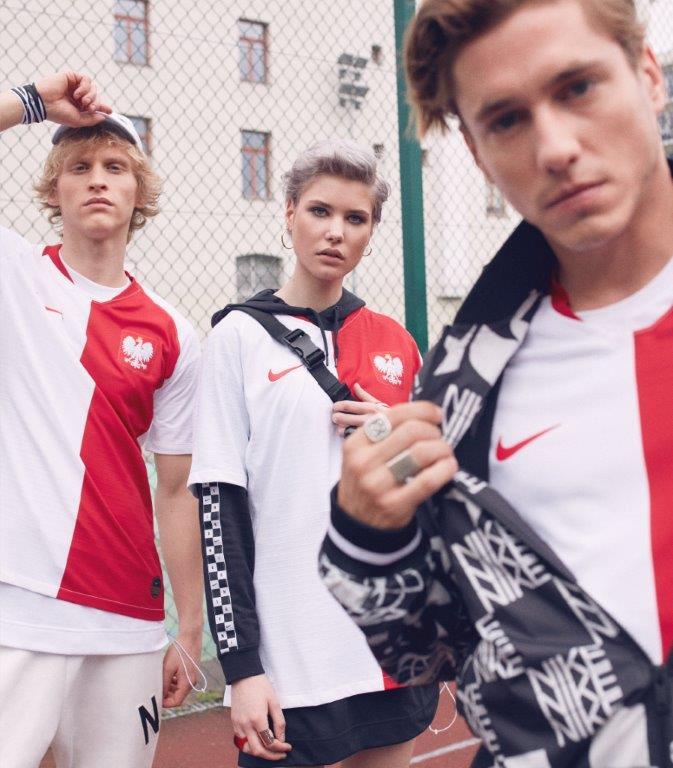 1abe907cf Nike prezentuje wyjątkową, limitowaną edycję koszulki reprezentacji Polski,  która powstała z okazji stulecia Polskiego Związku Piłki Nożnej.