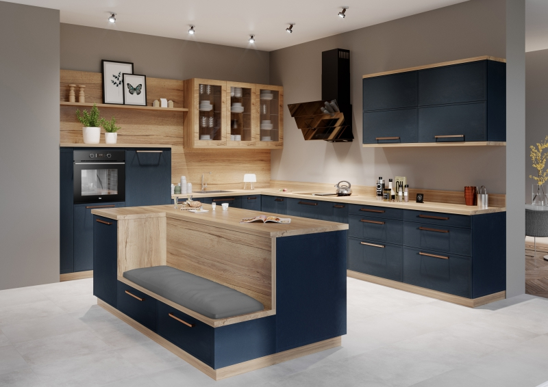 Najnowsze 4 pomysły na umiejscowienie piekarnika w zabudowie kuchennej - Dom ZK37