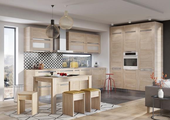 Kuchnia Z Drewnianym Posmakiem Dom Newseria Lifestyle